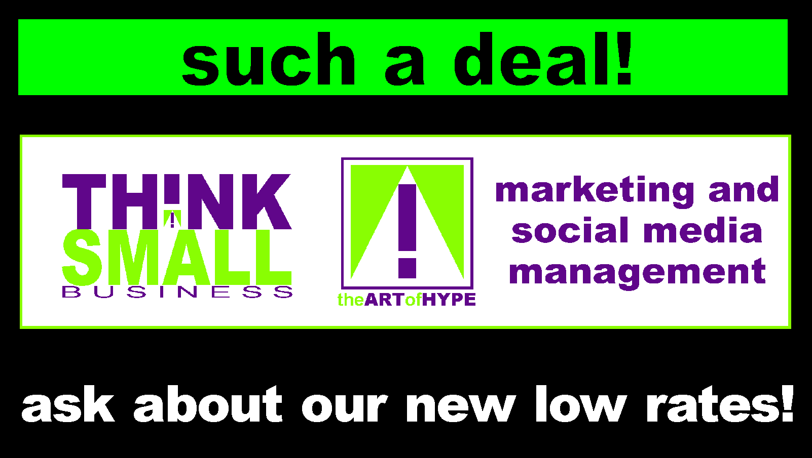 new low rates marketing facebook link
