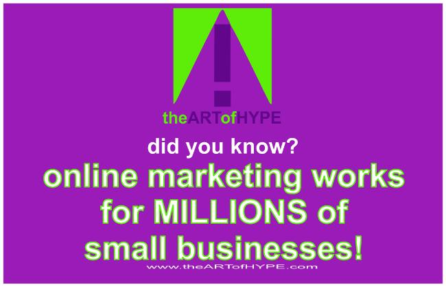online, atlanta, marketing, small business, the art of hype, guerrilla, graphics, logo, internet