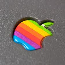 apple, icon, ipad, rainbow, image