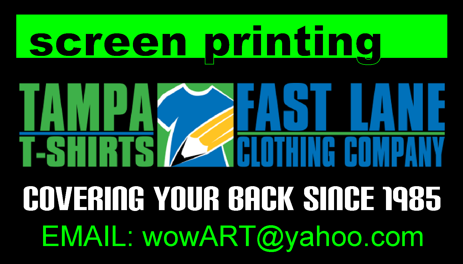 screen printing, embroidery, promotional products, marketing, trade show